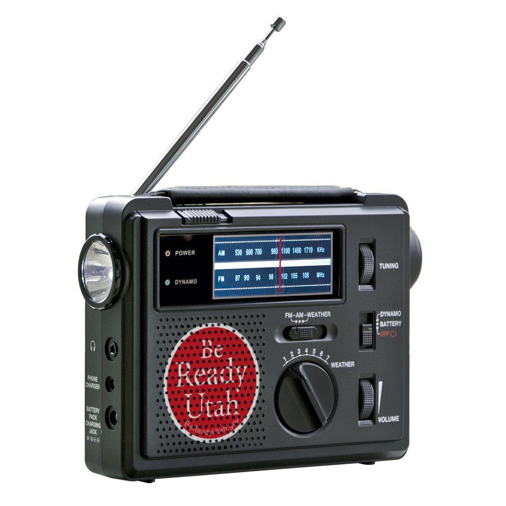 Be Ready Utah emergency Alert Radio