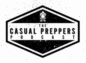 The Casual Preppers Podcast logo
