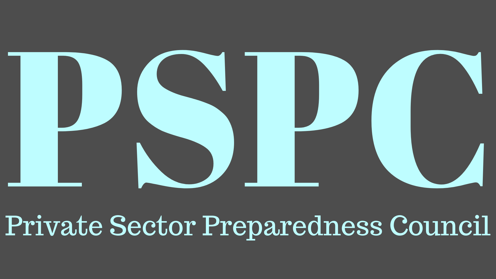 Image saying Private Sector Preparedness Council