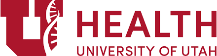 University of Utah Health logo with a red U and a DNA strand.